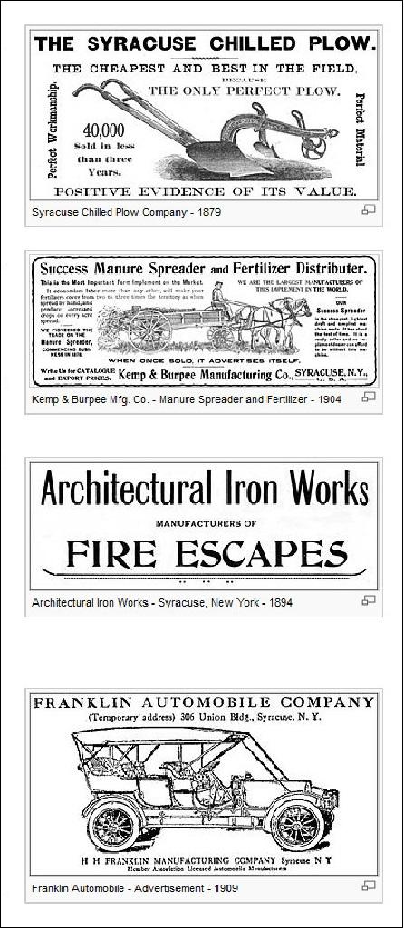 1879-1909 retro ads