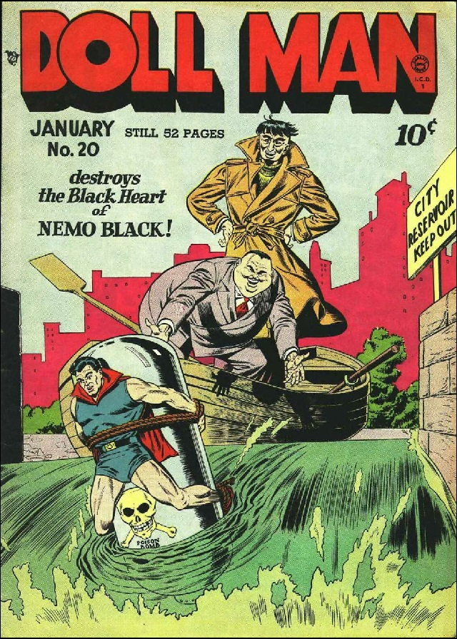 doll man comic cover 1963