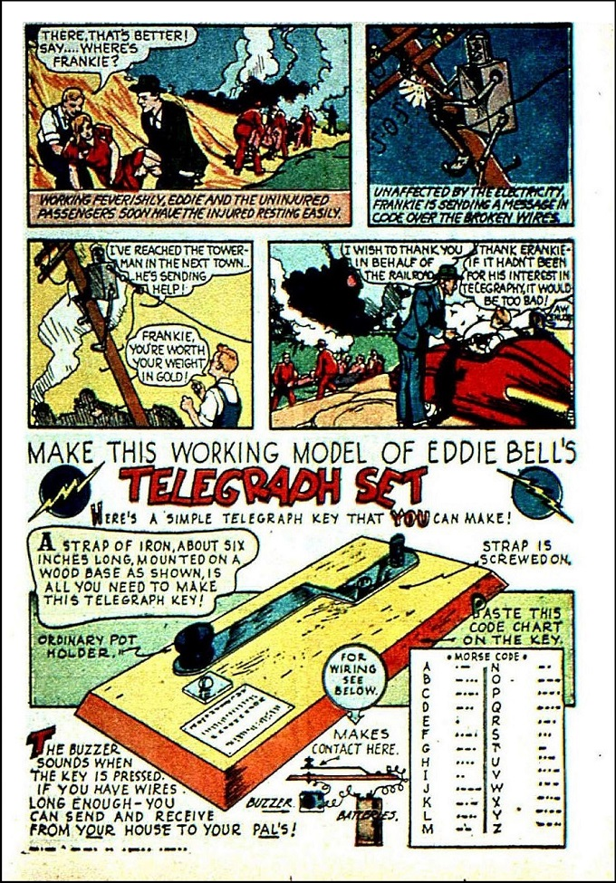 Edison Bell 1940s comic part 2