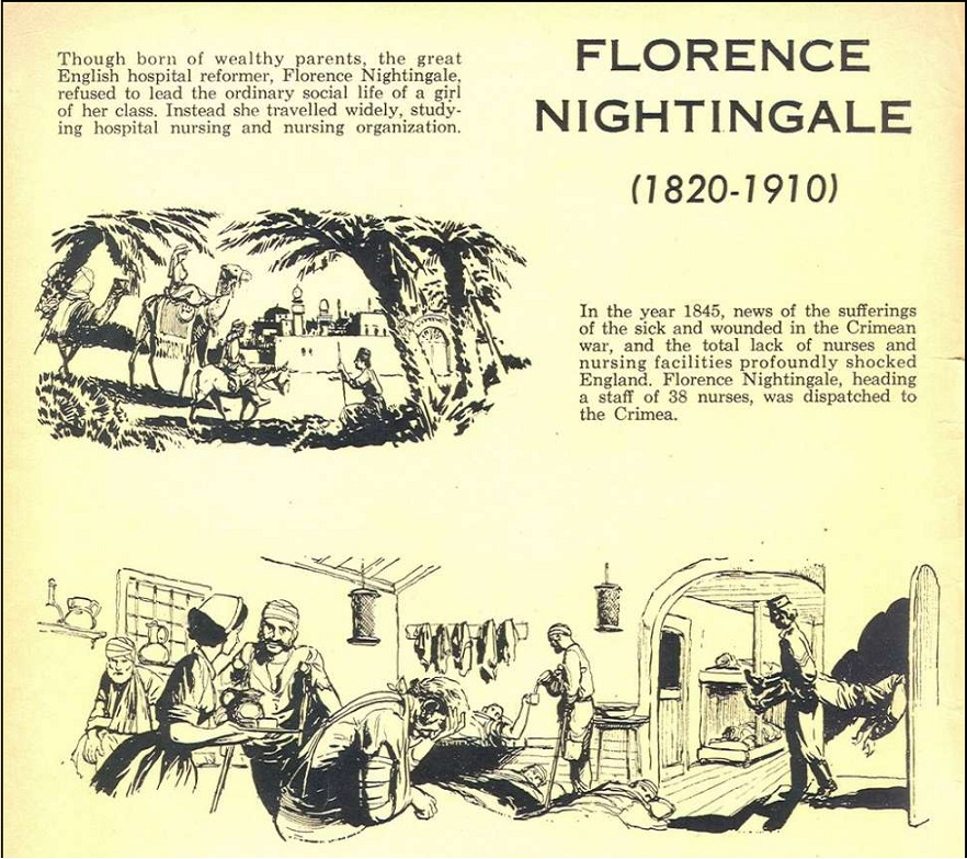 about Florence Nightingale