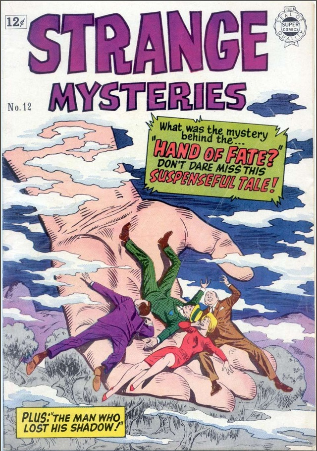 Strange Mysteries comic cover 1964