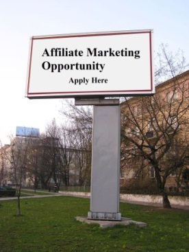 affiliate marketing opportunity sign