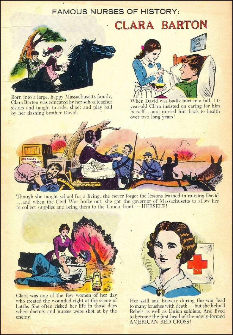 Clara Barton famous nurse