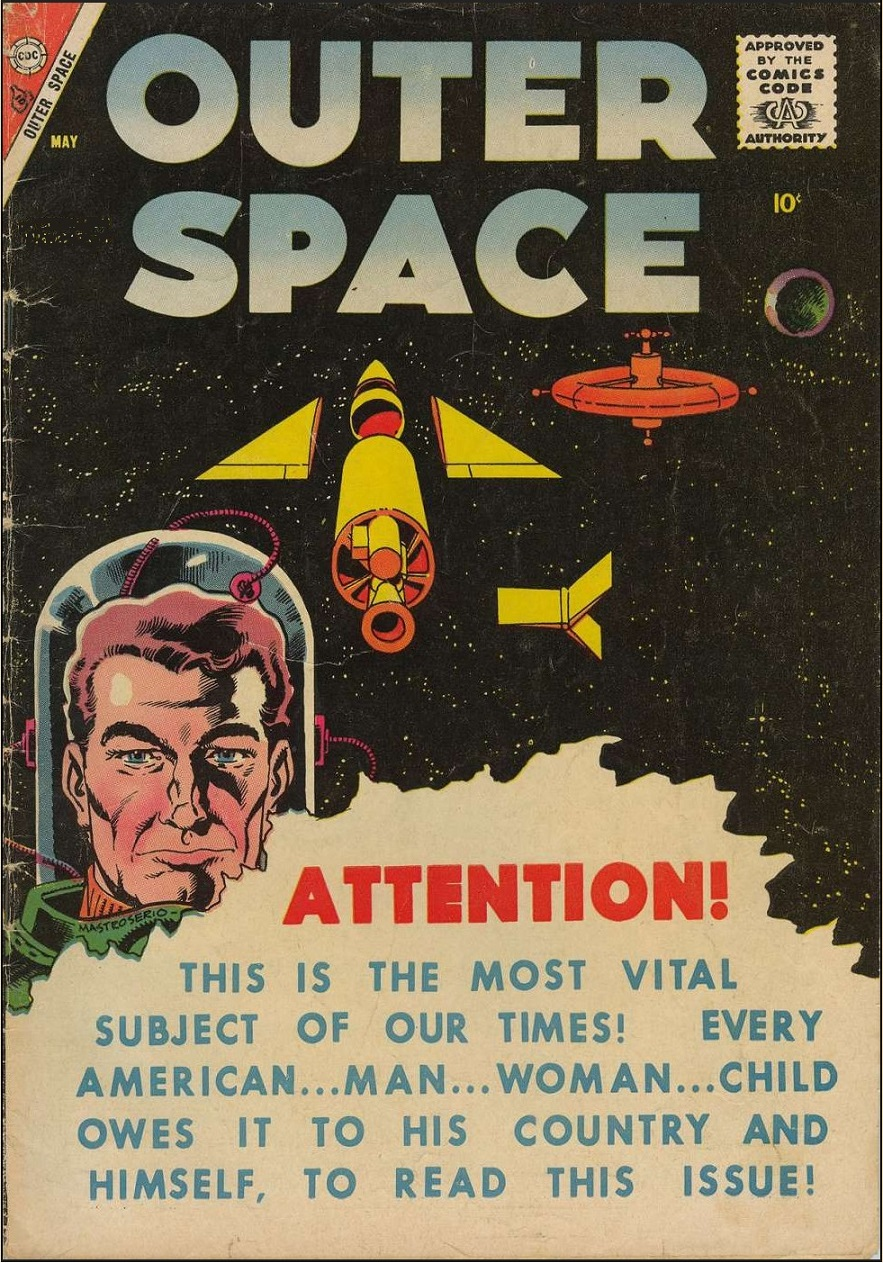 outer space magazine cover