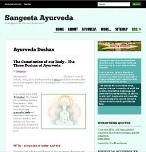 niche idea - Ayurveda